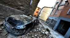 زلزال بقوة 7.1 على مقياس ريختر يضرب وسط إيطاليا