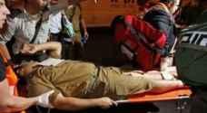 إصابة جندي إسرائيلي بعملية إطلاق نار قرب طولكرم