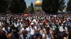 250 مصل من غزة في طريقهم إلى الاقصى