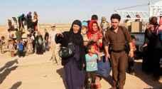 نزوح أكثر من 9 آلاف شخص خلال 48 ساعة في نينوى