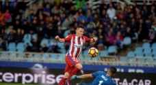 أتلتيكو مدريد يعود بخيبة أمل من سان سيباستيان