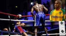 أول خسارة لمهاجم نورويتش السابق في عالم الملاكمة