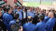 الأمن العام يفتتح التوسعة الثانية لمركز اصلاح وتأهيل الجويدة أمام النزلاء