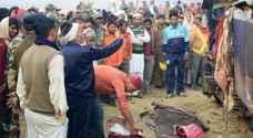 حصيلة 'قطار الهند' ترتفع إلى 127 قتيلا