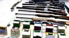 ضبط أسلحة بمداهمة أمنية في إربد