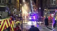 العثور على جثتين بعد حريق في مانشستر