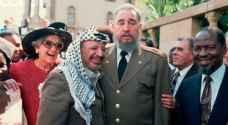 الفلسطينيون يستذكرون فيديل كاسترو