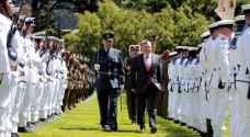 الملك يختتم زيارة رسمية لنيوزيلندا