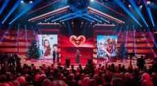 الملكة رانيا تتسلم جائزة 'القلب الذهبي' في برلين
