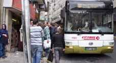 100 حافلة نقل عام جديدة قريبًا في عمّان