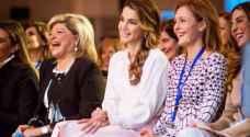 الملكة رانيا تحضر حلقة نقاشية ضمن 'مؤتمر نساء على خطوط المواجهة'