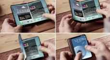 سامسونج تطور هاتفين ذكيين قابلين للطي