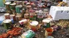 معان: اتلاف 7 أطنان مواد غذائية منتهية الصلاحية