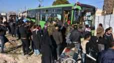 تضارب الأنباء حول انتهاء عملية الإجلاء من حلب