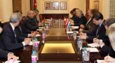 وزير الخارجية يلتقي وزراء خارجية دول البنلوكس