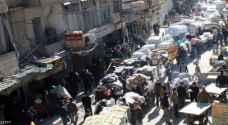 الف شخص خرجوا من حلب في عملية إجلاء جديدة