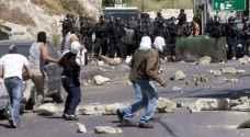 اصابات خلال مواجهات مع الاحتلال شمال القدس
