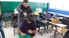 بالصور.. فزعة أردنية لانقاذ طلاب مدرسة البربيطة في الطفيلة