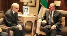 الأمير فيصل يلتقي وزير الدفاع الفرنسي