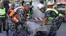 5 اصابات بحادث تصادم جنوب عمان