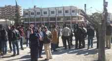معتصمون: قرار عدم تصديق شهادات الثانوية من خارج الأردن 'مخالف للقانون'