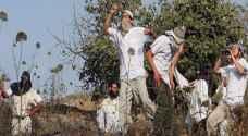 الاحتلال يضع يده على آلاف الدونمات جنوب نابلس