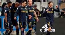 موناكو يهزم مرسيليا ويخطف صدارة الدوري الفرنسي