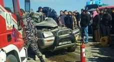 فيديو وصور.. حادث سير مروع على طريق الحزام