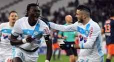 الدوري الفرنسي: غوميس يقود مرسيليا لفوز عريض على مونبيلييه