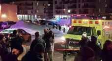 قتلى وجرحى في إطلاق نار بمسجد بمدينة كيبيك الكندية