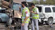762 حادثاً مرورياً في دبي خلال 24 ساعة