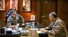 القائد الأعلى يزور القيادة العامة للقوات المسلحة