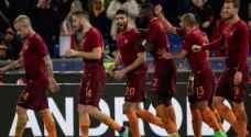 بطولة ايطاليا: روما يعود ثانياً باكتساحه فيورنتينا برباعية