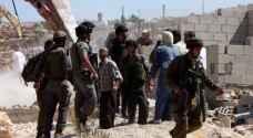 الاحتلال يخطر بوقف بناء منشآت بالأغوار الشمالية
