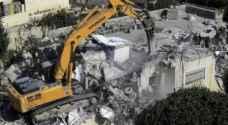 الاحتلال يخطر بوقف بناء منزلين جنوب نابلس