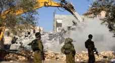 5 إصابات في مواجهات مع الاحتلال عقب هدم 3 منازل في حزما