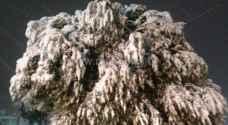 الكرك: تساقط وتراكم للثلوج في المزار الجنوبي..صور
