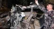 وفاة وإصابة بحادث سير مروع بإربد..صور
