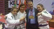 5 ذهبيات للأردن في بطولة جراند ماستر للجوجيتسو
