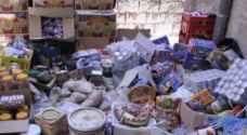 إتلاف مواد غذائية فاسدة في عجلون