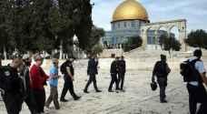 مستوطنون يقتحمون 'الاقصى' بحراسة شرطة الاحتلال