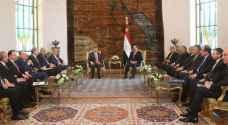 تفاصيل لقاء الملك والسيسي في القاهرة..فيديو