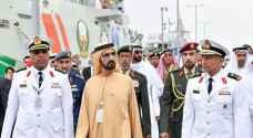 الإمارات تدشن زورق صواريخ متطورا محلي الصنع