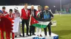 3 ميداليات للأردن في دورة غرب آسيا البارالمبية