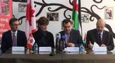 منحة كندية بقيمة 10 مليون دولار لدعم قطاع التعليم الأردني