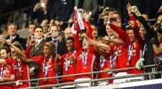 مانشستر يونايتد يتوج بكأس رابطة المحترفين