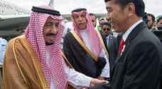 استقبال حاشد للعاهل السعودي في إندونيسيا