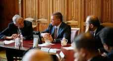 الملك يلتقي رؤساء وأعضاء عدد من اللجان في البرلمان البريطاني