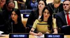كلوني: التحقيق بجرائم داعش الارهابي ينتظر 'الخطوة العراقية'