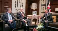 الملك يستقبل وفد مجلس العلاقات العربية والدولية